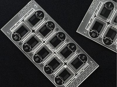 Камера для подсчёта клеток в биологических образцах, ПММА