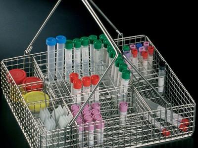 Корзины металлические для персонала гематологических лабораторий