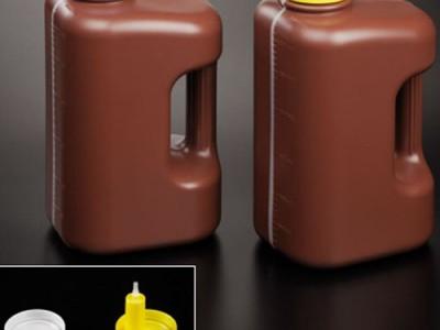 Прямоугольный градуированный контейнер с ручкой (до 3 литров)