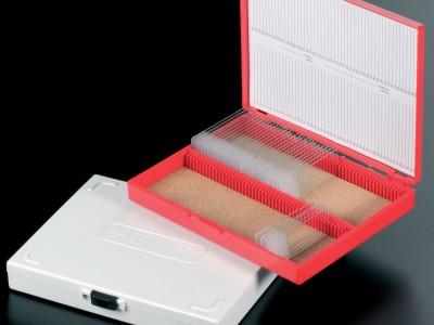 Коробки полистирольные для хранения предметного стекла