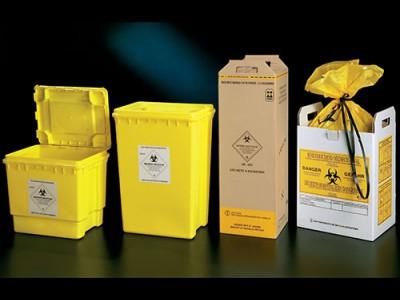 Контейнеры для сбора медицинских отходов